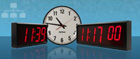 Network Clock Display